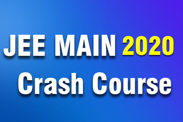 Bounce Back Crash Course JEE 2020(Main) cover